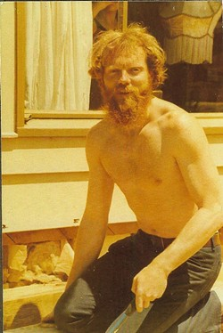 A bearded Talmadge in his Father Bob years. - COURTESY OF BUCK CROSBY
