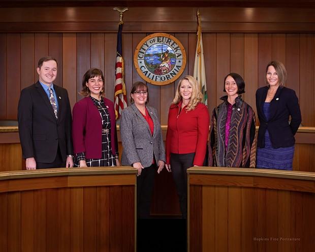 The Eureka City Council.
