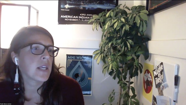 """Simon-Tedde Simon, an investigator and acting Indigenous justice program manager at the ACLU Foundation of Northern California, discusses """"Failing Grades,"""" a blistering report she helped author on the state of North Coast education for Native youth. - SUBMITTED"""