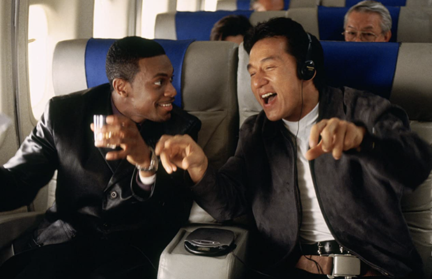 Chris Tucker and Jackie Chan in Rush Hour (1998)