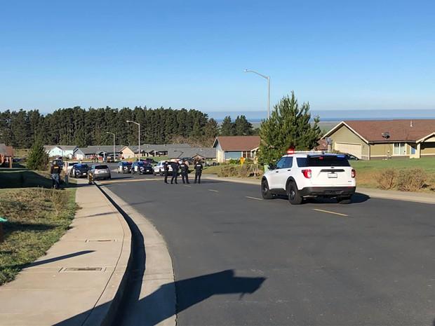 Humboldt County Major Crimes Task Force at the scene. - HCSO