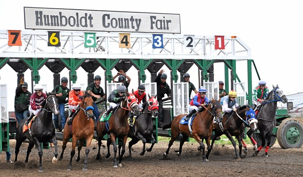 The Humboldt County Fair announces dates and a fundraiser for race horse owners. - SUBMITTED