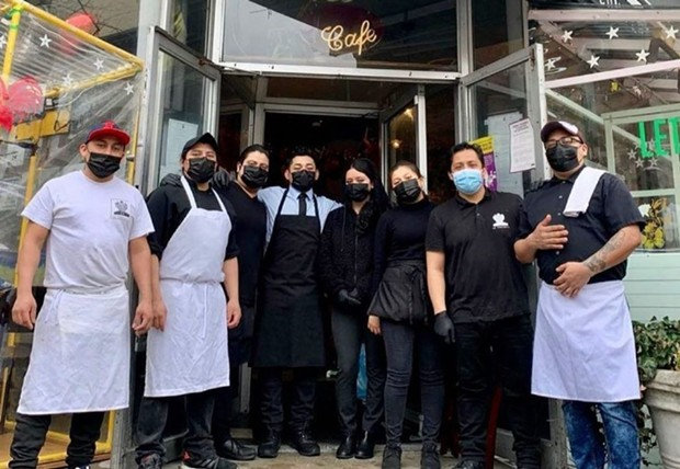 Luis Arce Mota, chef-owner of La Contenta and La Contenta Oueste in New York City, contracted Covid-19 last year and encouraged his staff to sign up for the vaccine but didn't make it mandatory. - COURTESY OF LA CONTENTA NYC/INSTAGRAM