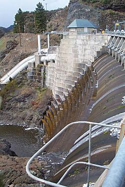 Copco Dam on the Klamath River. - PHOTO COURTESY OF THE U.S. DEPT. OF THE INTERIOR.