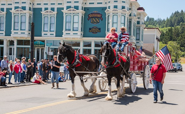 FERNDALE FOURTH OF JULY PARADE - SUBMITTED