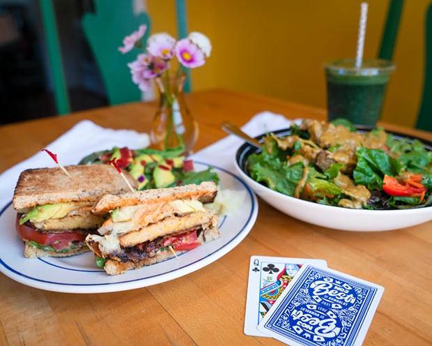 Best Vegan/Vegetarian Options: Wildflower Café and Bakery - PHOTO BY  JONATHAN WEBSTER
