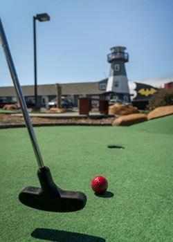 Lighthouse Plaza Mini-Golf. - JONATHAN WEBSTER