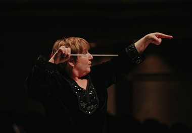 Carol Jacobson, Music Director & Conductor of the Eureka Symphony. - SUBMITTED