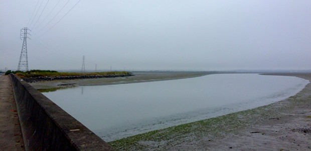 Mad River Slough. Gray can be beautiful, too. Especially after a triple-digit inland trip.