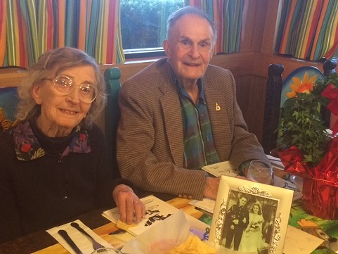 Geoffrey and Queenie Spenceley - CHRISTINE PETER