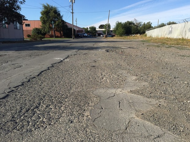 Man, this street is rough! - JENNIFER SAVAGE