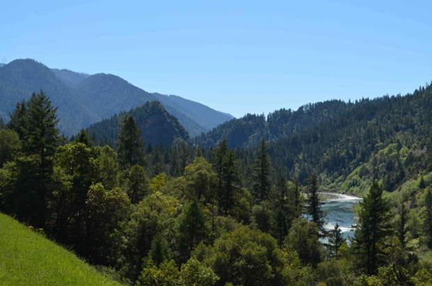 The Klamath River near Ishi Pishi Falls. - GRANT SCOTT-GOFORTH