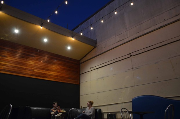 There's a slick new outdoor seating area. - GRANT SCOTT-GOFORTH