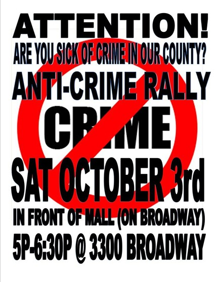 Anti-Crime Rally - OPERATION SAFE STREETS