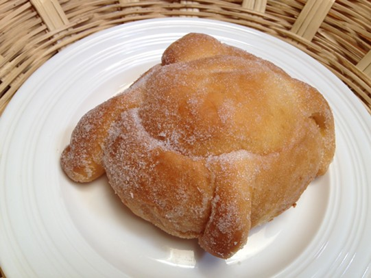 Soft, sweet pan de muerto. - JENNIFER FUMIKO CAHILL