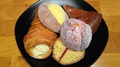 Behold, the bakery bounty. - JENNIFER FUMIKO CAHILL