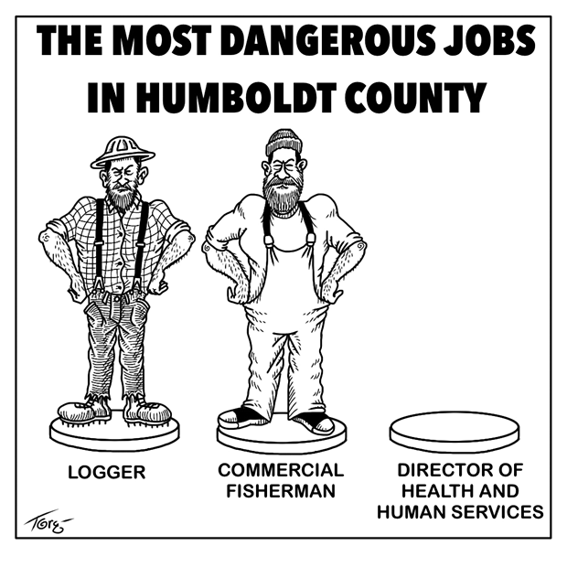 The Most Dangerous Jobs in Humboldt - TERRY TORGERSON