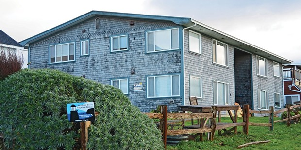 The Humboldt County Board of Supervisors is poised to discuss how to regulate short-term vacation rentals, like the one pictured here in Trinidad, at its Feb. 9 meeting. - TED PEASE