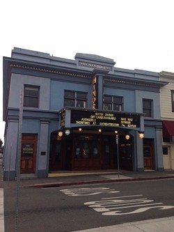 The Minor Theater last year. - SHARON RUCHTE