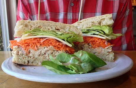 Your mom does not make you tuna sandwiches this nice. Sorry. - JENNIFER FUMIKO CAHILL