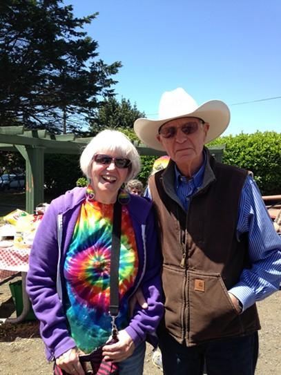 Linda and Bill Shapeero. - JENNIFER FUMIKO CAHILL