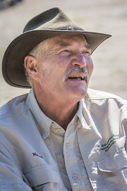 "Michael Muir, Napa, the great-grandson of conservationist John Muir and one of the guest speakers, described the the National Park Service  Centennial as a ""grand event."" - MARK LARSON"