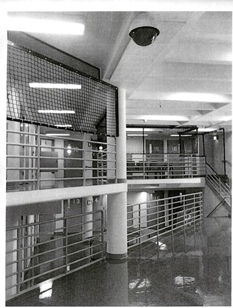 A version of the suicide netting that may go up in the jail, as included in the budget request. - HUMBOLDT COUNTY DEPARTMENT OF PUBLIC WORKS