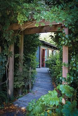 Guest house at Flood Plain Produce. - DREW HYLAND