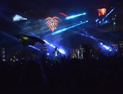 Sizzla Kalonji on stage at Reggae on the River. - ERICA BOTKIN