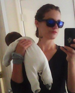 A selfie with Misztal and her baby, posted Aug. 5. - FACEBOOK