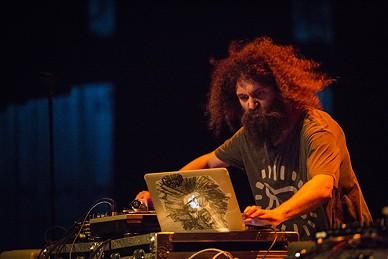 The Gaslamp Killer. - PHOTO BY SAM ARMANINO