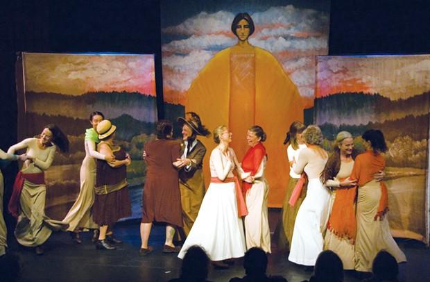 Women of the Northwest. - COURTESY OF ARCATA PLAYHOUSE