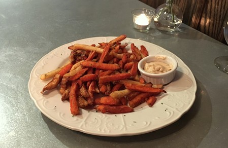 Eat your vegetable fries. - JENNIFER FUMIKO CAHILL