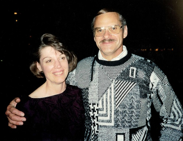 Dick and Judy Magney around the time they met in 1992. - PHOTO COURTESY OF JUDY MAGNEY