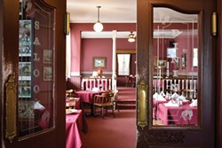 The Ivanhoe dining room. - PHOTO BY DREW HYLAND