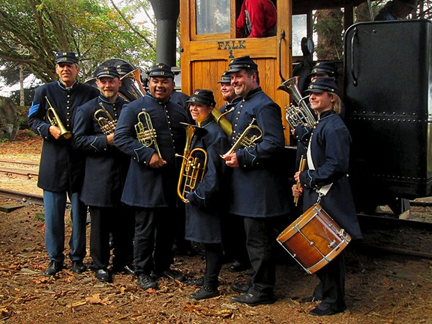 Fort Humboldt Brass Band - COURTESY OF THE ARTISTS
