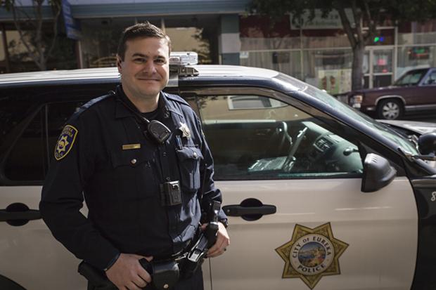 Officer Cory Crnich - SAM ARMANINO