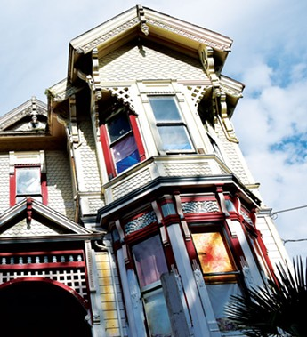 The now red-tagged home at 1635 G St. - PHOTO BY THADEUS GREENSON
