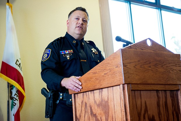 Pending City Council approval, former Capt. Steve Watson has been named the city's next police chief. - MARK MCKENNA