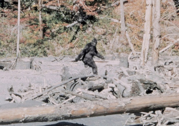 PATTERSON-GIMLIN FOOTAGE