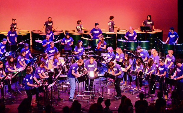 The HSU Calypso Band plays the Van Duzer Theatre at 8 p.m. on Saturday, Dec. 2. - SUBMITTED