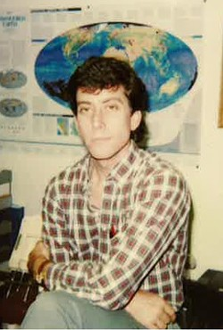 A photo of Damiano when he was a young probation officer, in 1988. - SUBMITTED BY MIKE GOLDSBY