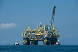 Draft plan calls for leasing off-shore drilling operations in Northern California. - WIKIPEDIA