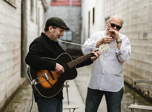 Curtis Salgado and Alan Hager - PHOTO BY JESSICA KEAVENY