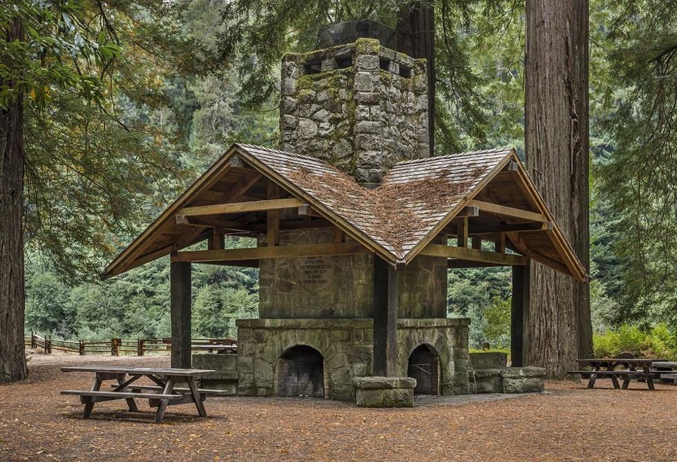Julia Morgan's Federation Hearthstone fireplace. - GREG NYQUIST