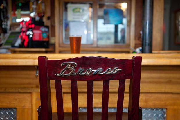 A regular's favorite seat. - PHOTO BY AMY KUMLER.