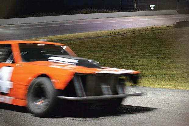 Doing laps at Redwood Acres Raceway. - FILE