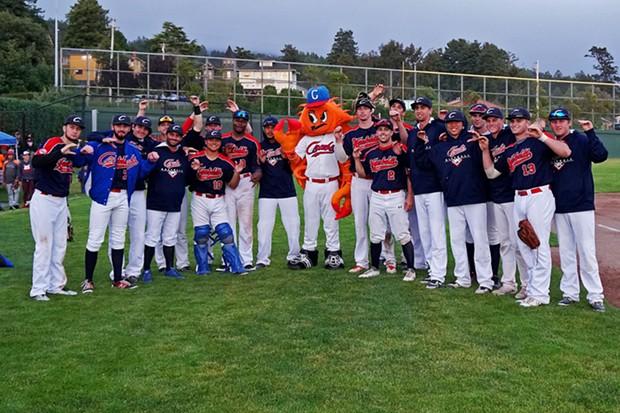 Team Crusty lines up for the 2018 season. - PHOTO BY MATT FILAR
