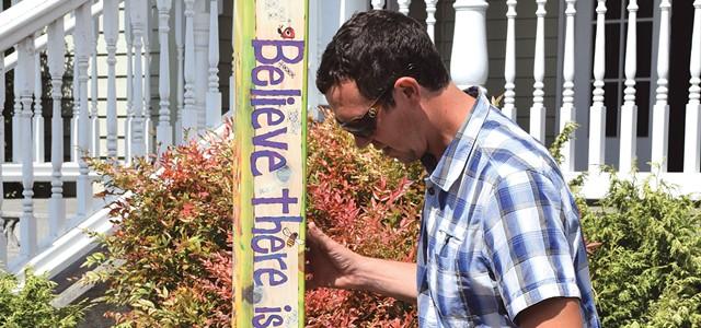 Pole Fight: Fortuna Art Installation Draws Councilmember's Ire