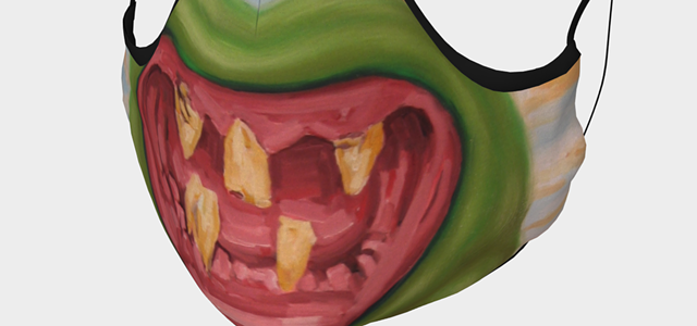 Art for Your Face: Snarky Mouth Coverings by Humboldt Artists for Sale